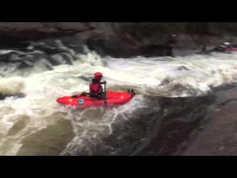 Moose River grade 5 white water canoeing