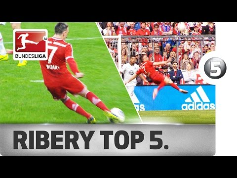 Franck Ribery - Top 5 Goals - Updated