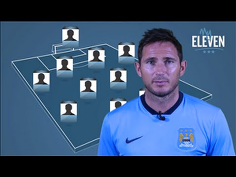 Frank Lampard Top Eleven Ever - (Frank Lampard picks his greatest ever team)