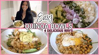 EASY & HEALTHY QUINOA BOWLS