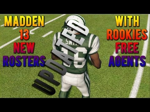 Available For Download How To Get 2013-2014 NFL Rosters On Madden 13