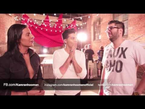 Kamran & Hooman - Az To Entezar Nadashtam Official Behind The Scenes video