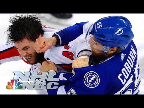 Top 18 NHL fights of 2018  NHL  NBC Sports