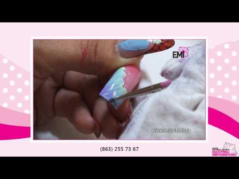 Мастер классы для кашемира на ногтях