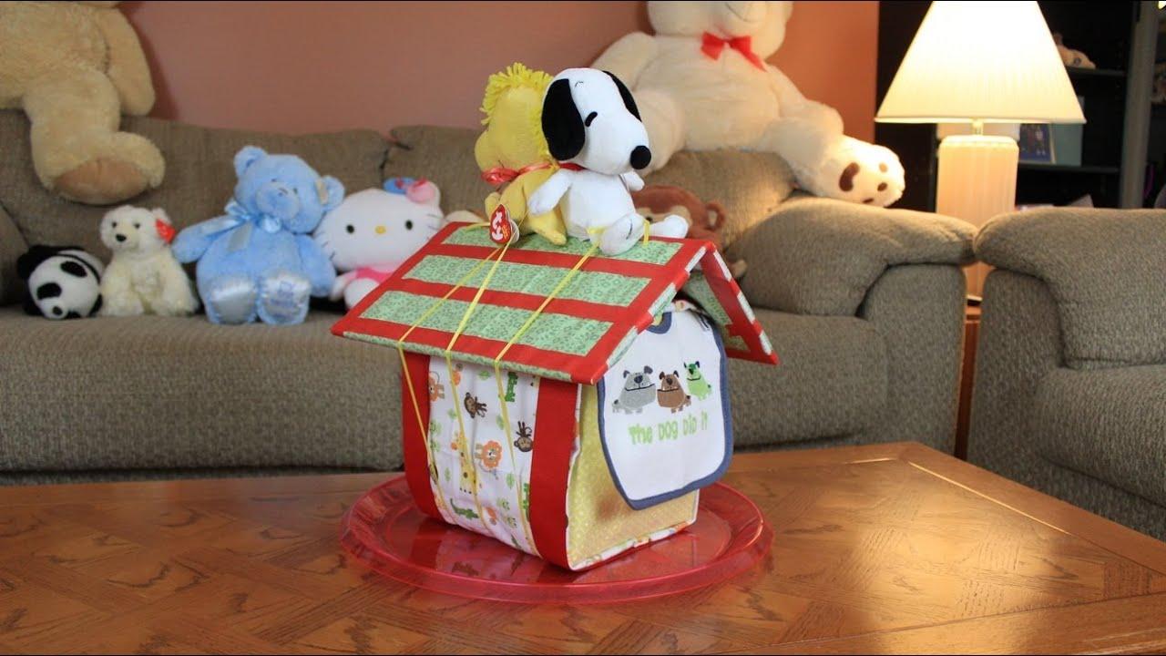 Baby Snoopy Diaper Cake