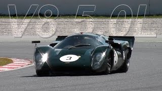 Lola T70 Chevrolet - LOUD V8 5.0L Sound!