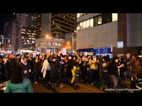 Hundreds in NYC Protest Chokehold Death