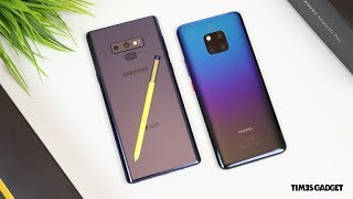 Mate 20 Pro vs Galaxy Note 9: il CONFRONTO COMPLETO