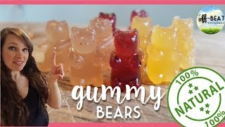 EASY, HEALTHY, All-Natural Gummy Bears