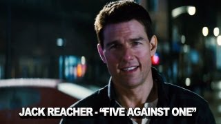 "Jack Reacher - ""Five Against One"" Clip"