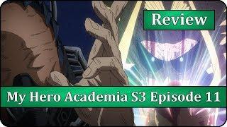 The Number One Hero - Boku no Hero Academia Season 3 Episode 11 (49) Anime Review