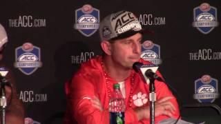TigerNet.com - Dabo Swinney, Deshaun Watson ACC title postgame press conference