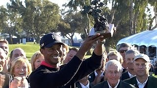 Tiger Woods at Torrey Pines