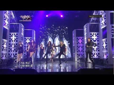 Snsd - Mr Taxi + The Boys (comeback Stage) 1080p 111021 video
