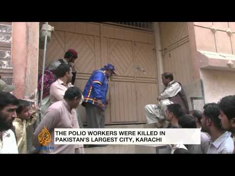 Deadly attack targets Pakistan polio drive