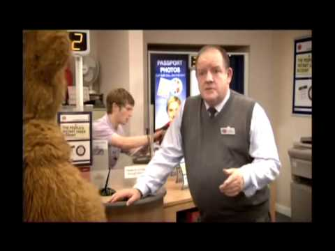 Post Office Advert feat. Bungle Bear and Ray Mears - 'The People's Post Office'