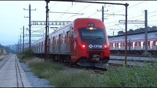 (No Trecho) CPTM CAF Série 8500 Trem H636 & Hyundai Rotem Série 9500 D568