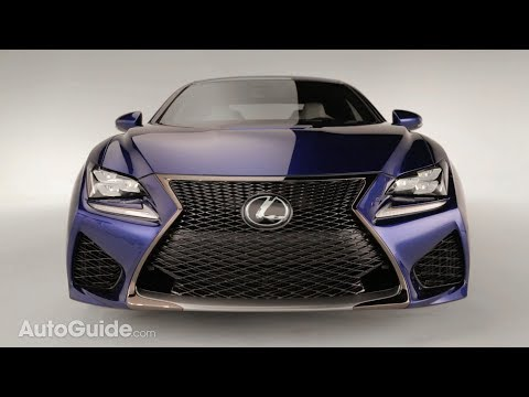 2014 Lexus RC-F Official Reveal - 2014 Detroit Auto Show