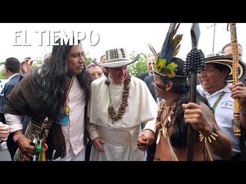 Los momentos virales del Papa Francisco en Colombia | EL TIEMPO