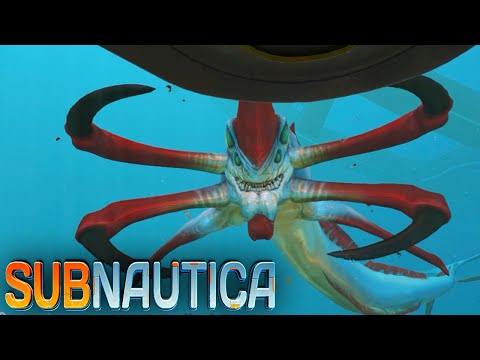 Subnautica - REAPER LEVIATHAN, Flood Lights, Movie Poster! - Ep12 (Early Access Gameplay)