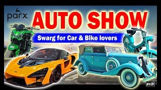 Parx Auto Show 2019 | McLaren Senna in India  | EXCLUSIVE VLOG | Vintage Cars & Bike | Classic Cars