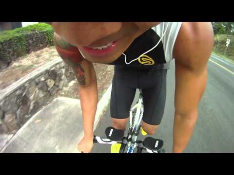 Road to the podium, Triathlon Training (GoPro)