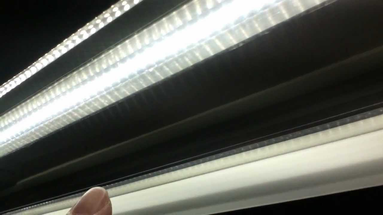 Installed Led T8 22w 5000k 48 Quot Tubes In The Fluorescent