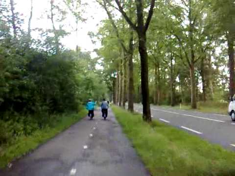 Solex rijden in Ootmarsum