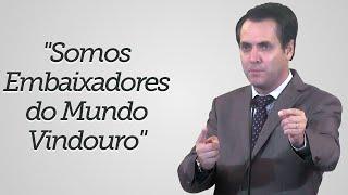 """""""Somos Embaixadores do Mundo Vindouro"""" - Leandro Lima"""