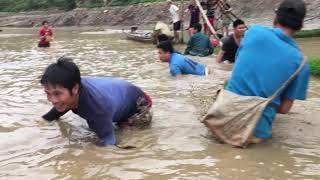 Xả Đập Bắt Cá Khủng Vui Như Ngày Hội  | Hùng Bắc Yên