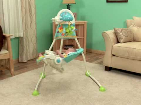 Babysitter - Fisher- Price Precious Planet Open Top Cradle Swing video