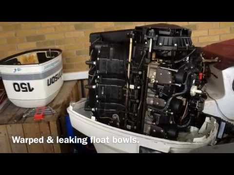 Johnson / Evinrude Outboard float bowl problems