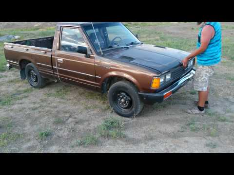 1982 Datsun 720 Pickup W/SD22 Diesel Engine | How To Save ...