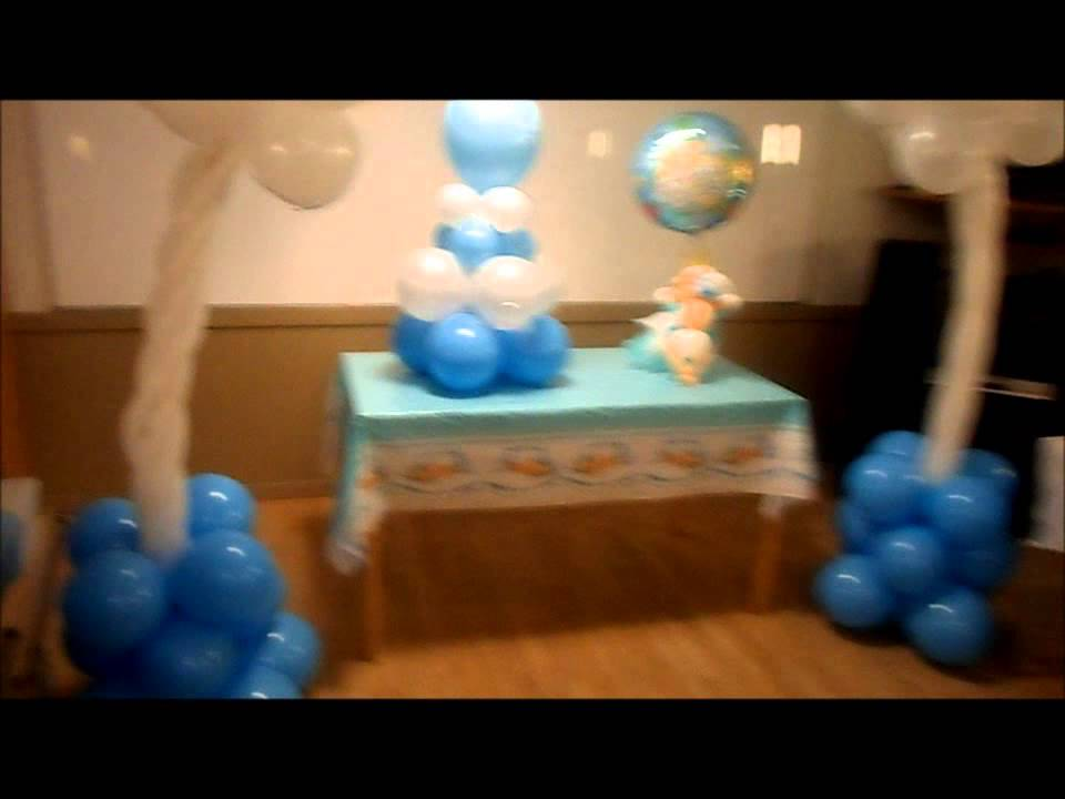 decoracion de baby shower youtube