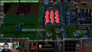 Warcraft 3: HellHalt TD #28 - w/ Team of Fans! (PAAC)