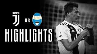 HIGHLIGHTS: Juventus vs SPAL - 2-0 - Serie A - 24112018 | Ronaldo Mandzukic