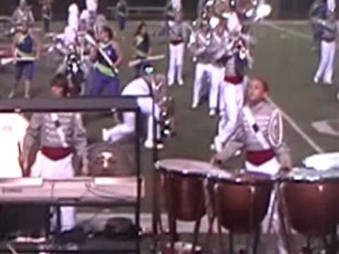 Marching Band Fail - tuba gets owned