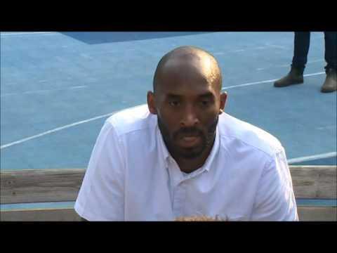 Kobe Bryant a Reggio Emilia: video intervista