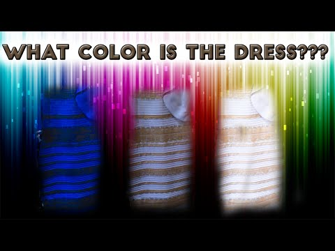 The True Color of The Dress Proof... Blue & Black or White & Gold?
