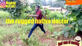 The rugged native doctor (real men of comedy)