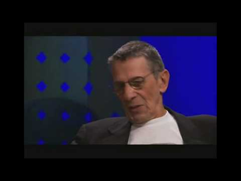 Leonard Nimoy on Shatner s Raw Nerve