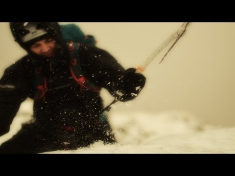 Blea Water Gill Solo Ice climb Lake District 19th Jan 2013