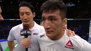 UFC 234: Kyung Ho Kang Octagon Interview