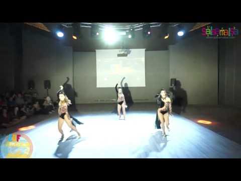 Armonia Ladies Team Dance Performance - EDF 2016