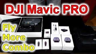 DJI Mavic Pro Fly More Combo drone | Unboxing | Best dron ever | rozbalovačka | česky cz