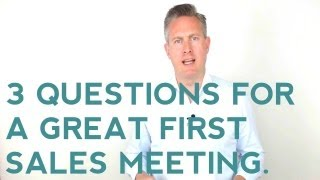 how to ask open ended questions in sales