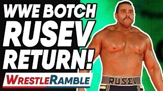 WWE BOTCH Rusev Return! WWE Raw Sept. 16, 2019 Review | WrestleTalk's WrestleRamble