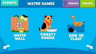 #science #Fun and learning Educational game for Children#Science Experiments with Water