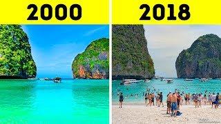 8 Atrações Turísticas Que Os Humanos Arruinaram Para Sempre