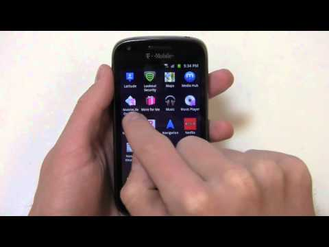 Samsung Galaxy S Blaze 4G Review Part 1